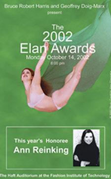THE ELAN AWARDS 2002