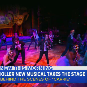 Go Inside 'Carrie: The Musical' with Good Morning America
